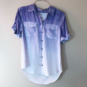 EQUIPMENT FEMME Silk Button-Down Blouse